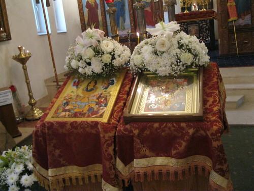 Престольный праздник в кафедральном соборе г. Душанбе