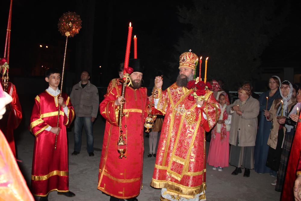 Пасху Христову встретили в Душанбинской епархии