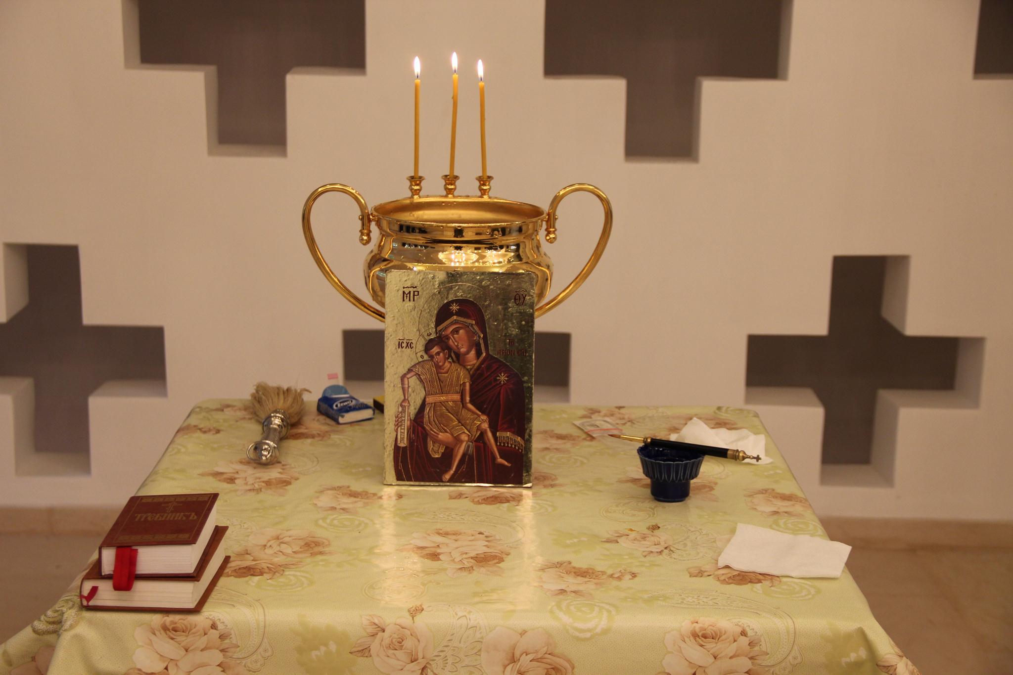 8 октября в день преставления преподобного Сергия Радонежского состоялось освящение здания нового административно-жилого комплекса Душанбинской епархии