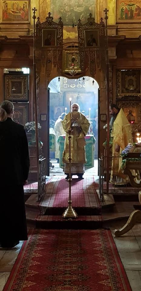 Епископ Питирим возглавил Божественную литургию в Борисоглебском монастыре
