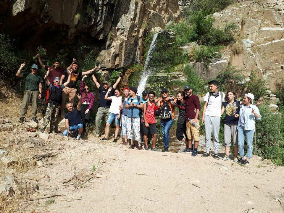 Молодежный отдел епархии совершил поход в горы