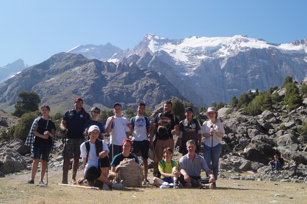 Молодежный отдел епархии совершил очередной поход в горы