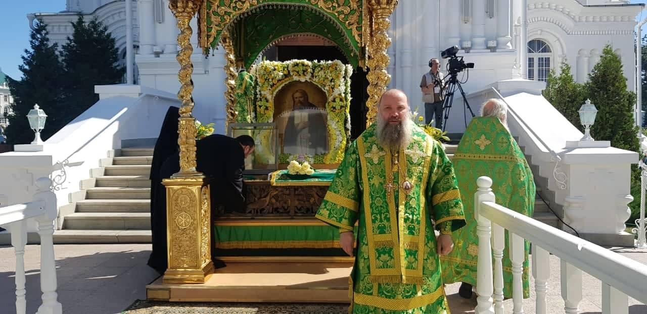 Епископ Питирим принял участие в торжественных богослужениях, посвященных памяти прп. Серафима Саровского