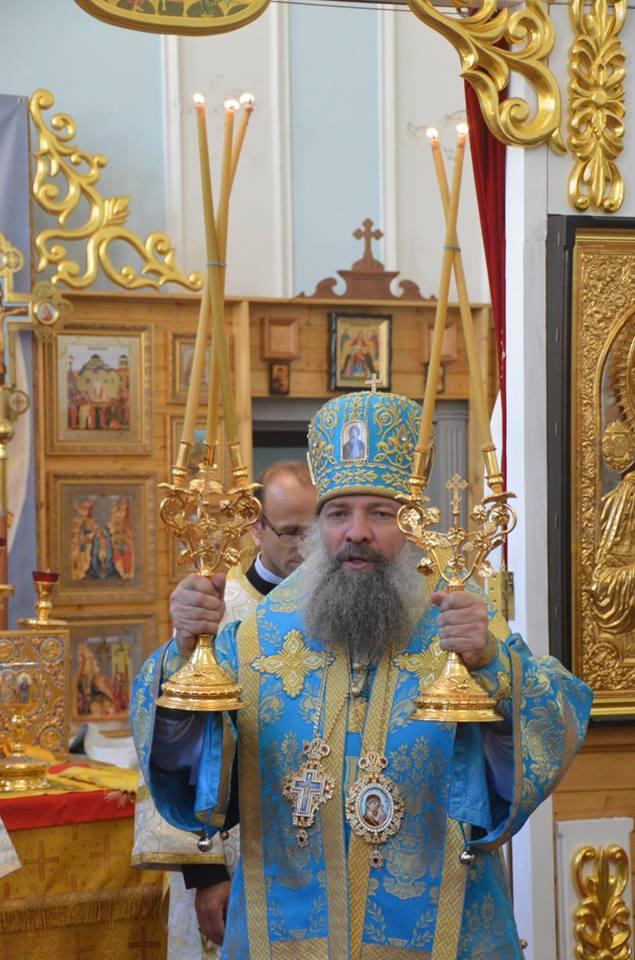 Епископ Питирим совершил Божественную литургию в храме Всех святых в Страсбурге