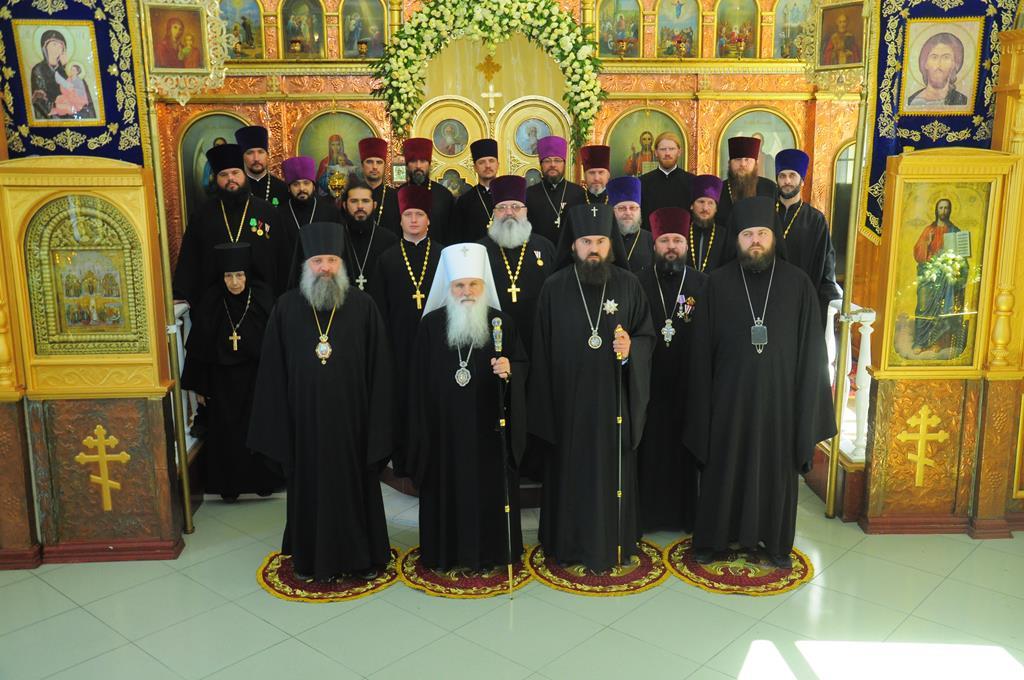 Епископ Питирим принял участие в торжествах, посвященных десятилетию  деятельности Патриаршего благочиния в Туркменистане