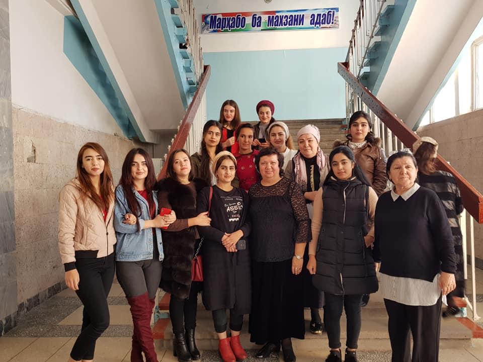 Творческая встреча Ирины Ордынской со студентами ТНУ