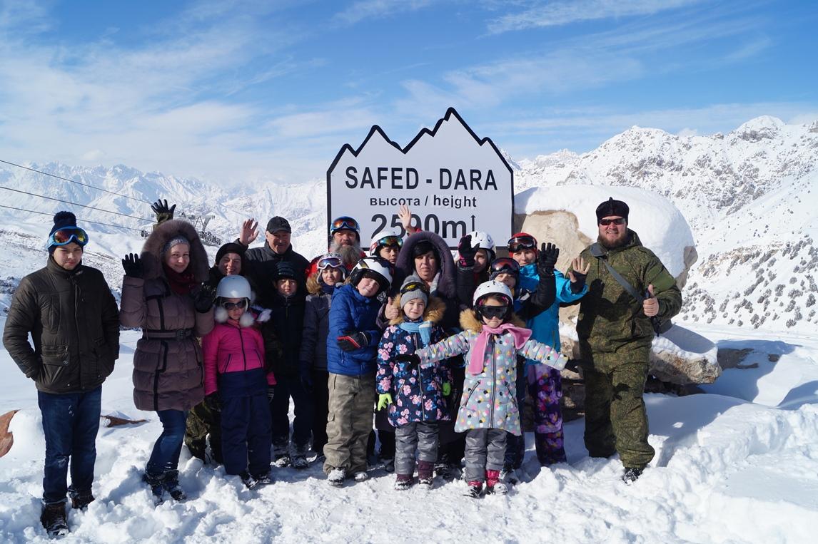 Поездка молодежного отдела в Сафед-Дару
