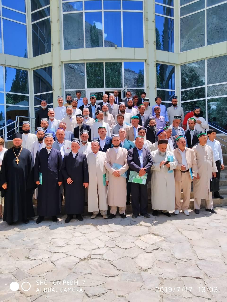 Представитель епархии принял участие в работе форума «Межконфессиональный семинар Хорог-2019»