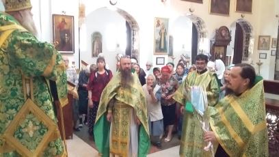Годовщина архиерейской хиротонии епископа Питирима