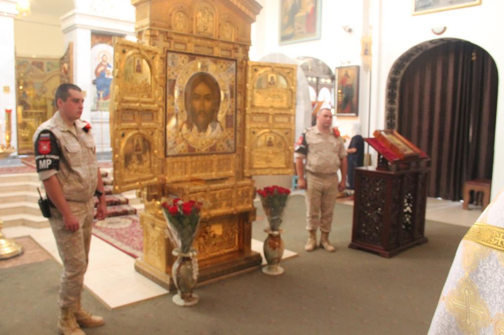 Главная икона строящегося храма Вооруженных сил Российской Федерации доставлена в Свято-Никольский кафедральный собор г. Душанбе