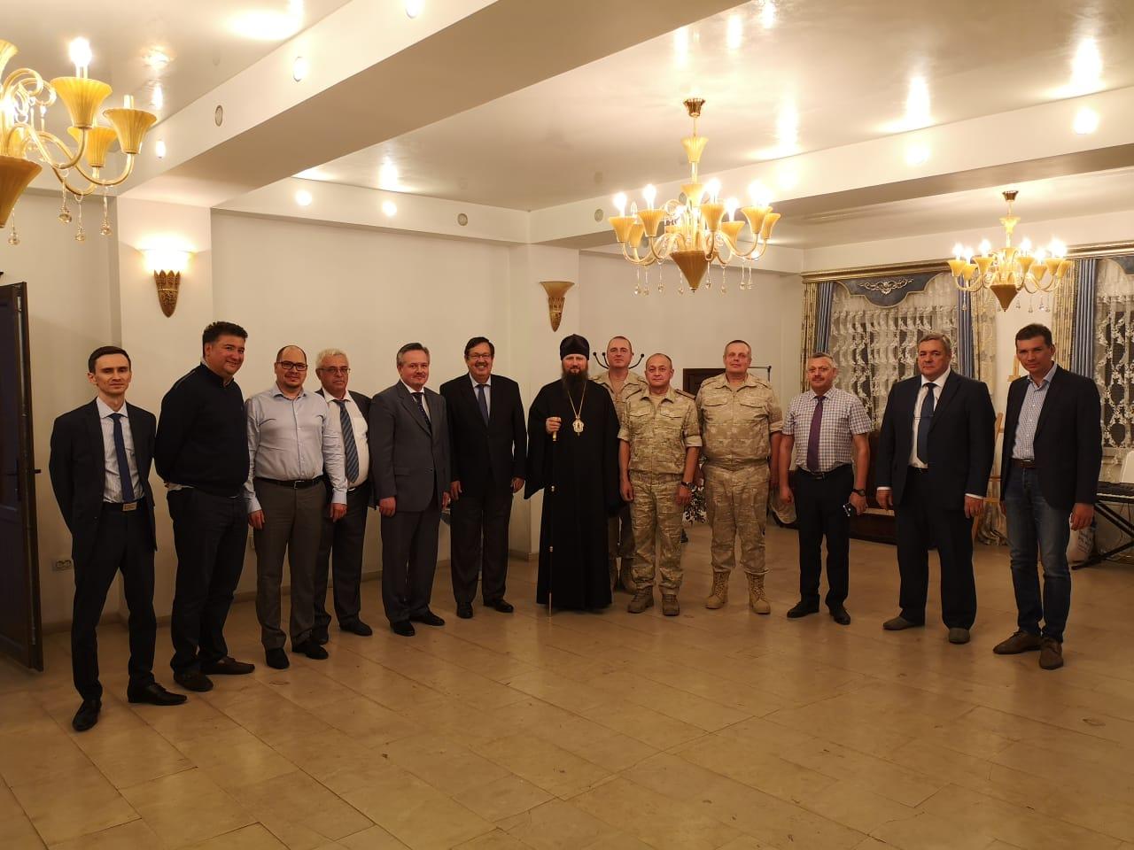 Епископ Душанбинский и Таджикистанский Павел провел встречу с руководителями российских организаций в Таджикистане