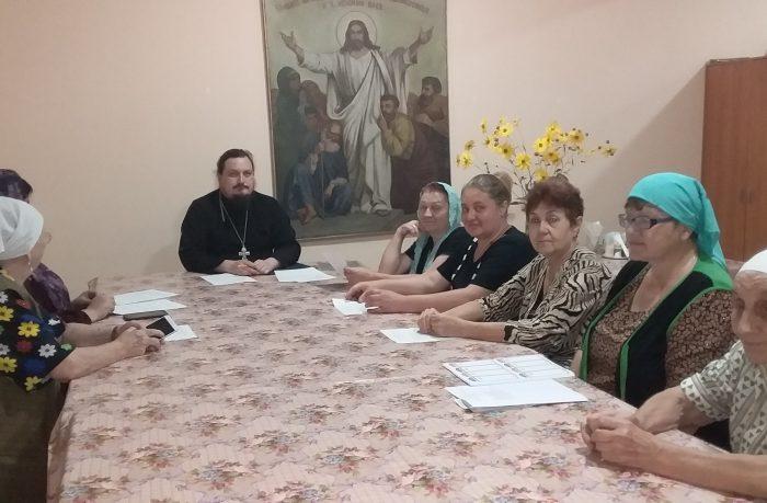 Приходское собрание в храме Архистратига Божия Михаила г. Бохтар