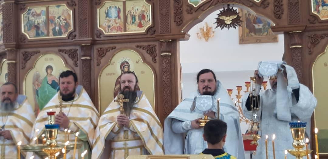 Престольный праздник храма Архистратига Божия Михаила в г. Бохтар