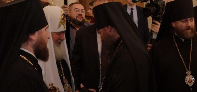 Преосвященнейший Павел, епископ Душанбинский и Таджикистанский поздравил Святейшего Патриарха Московского и всея Руси с днем рождения