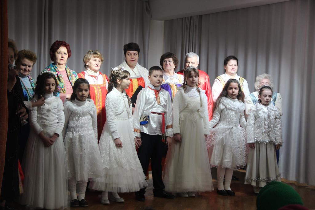 В культурно-просветительском центре Душанбинской епархии состоялся концерт коллектива «Серебряный рассвет»