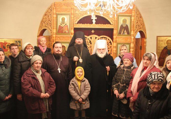 Митрополит Викентий возглавил Божественную литургию в храме Архистратига Божия Михаила в г. Бохтар