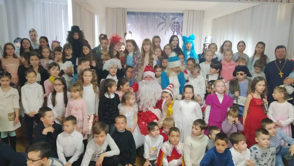 Рождественская елка в культурно-просветительском центре Душанбинской епархии
