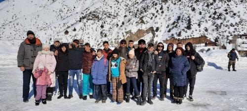 Поездка молодежного отдела епархии в Сафед-Дару