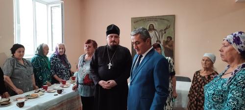 Храм Архистратига Божия Михаила посетил председатель хукумата г. Бохтар С.Сиджуддин