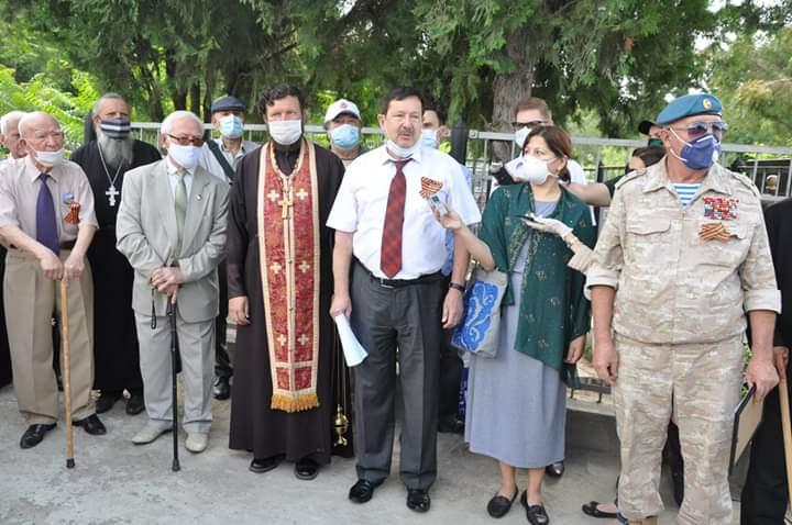 День памяти и скорби состоялся на православном кладбище г. Душанбе