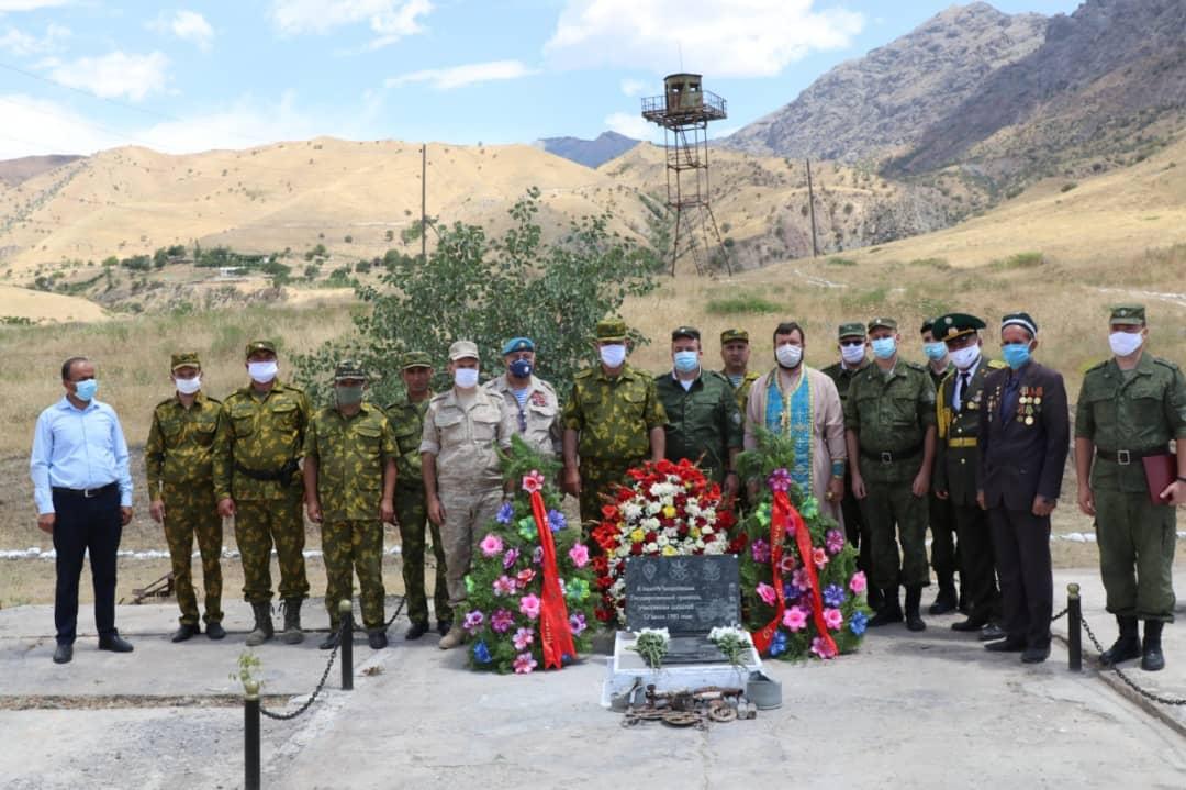 27 лет со дня героического боя российских военных на 12-й пограничной заставе Московского погранотряда в Таджикистане