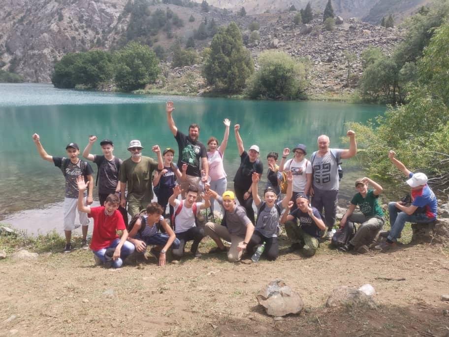 Поход к озеру Тимур-дара