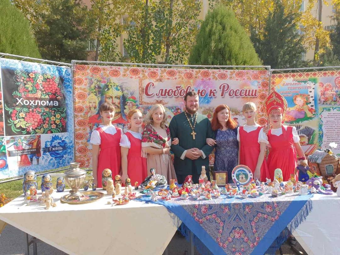 День народного единства отпраздновали в 201-й Российской военной базе