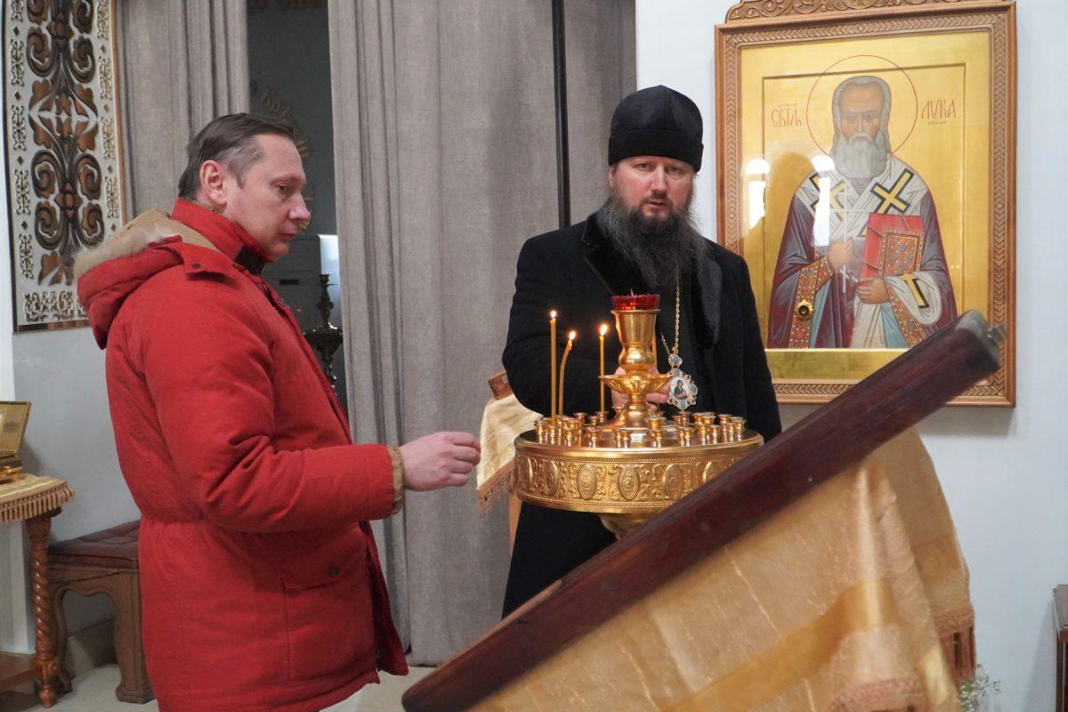 Епископ Павел провел встречу с Генеральным консулом РФ в г. Худжанде