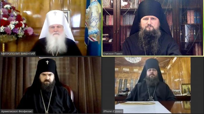 Епископ Душанбинский и Таджикистанский Павел принял участие в работе Синода Среднеазиатского митрополичьего округа