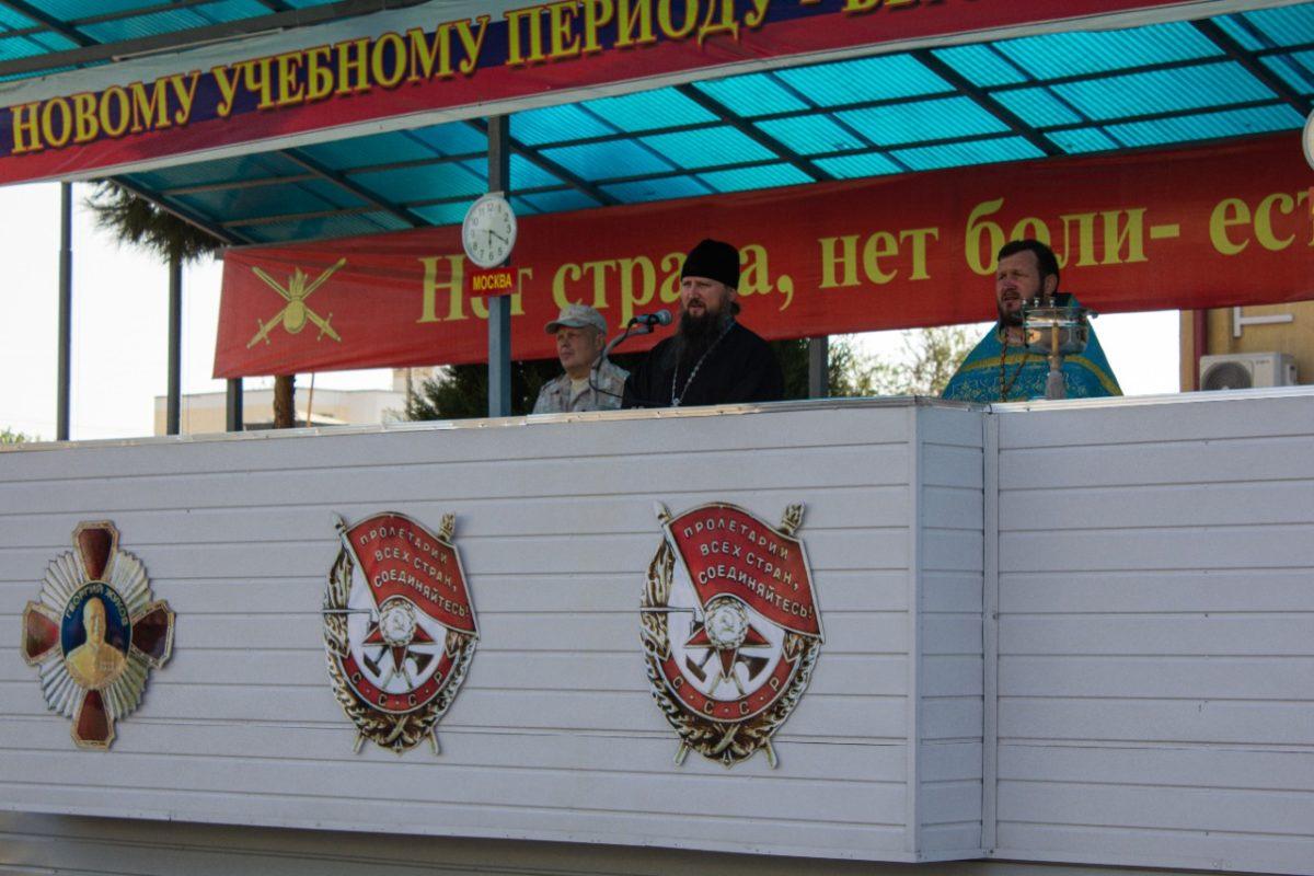 Епископ Павел совершил Божественную литургию в Иверском храме 201-й Российской военной базы